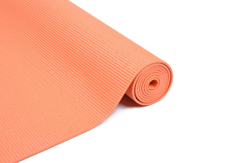 Yogamatte orange 173 x 61 x 0.4 cm