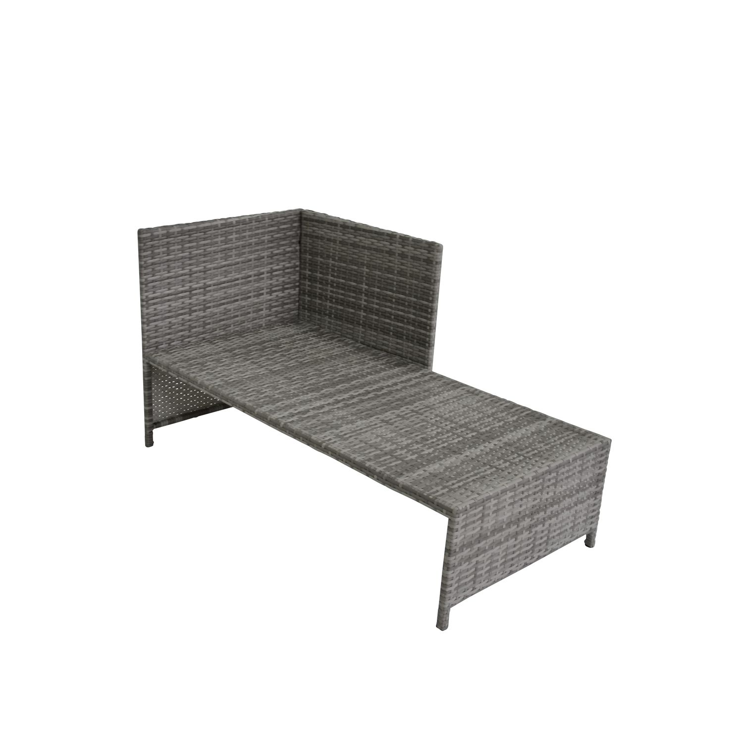 rattan lounge nevada grau online shop gonser. Black Bedroom Furniture Sets. Home Design Ideas