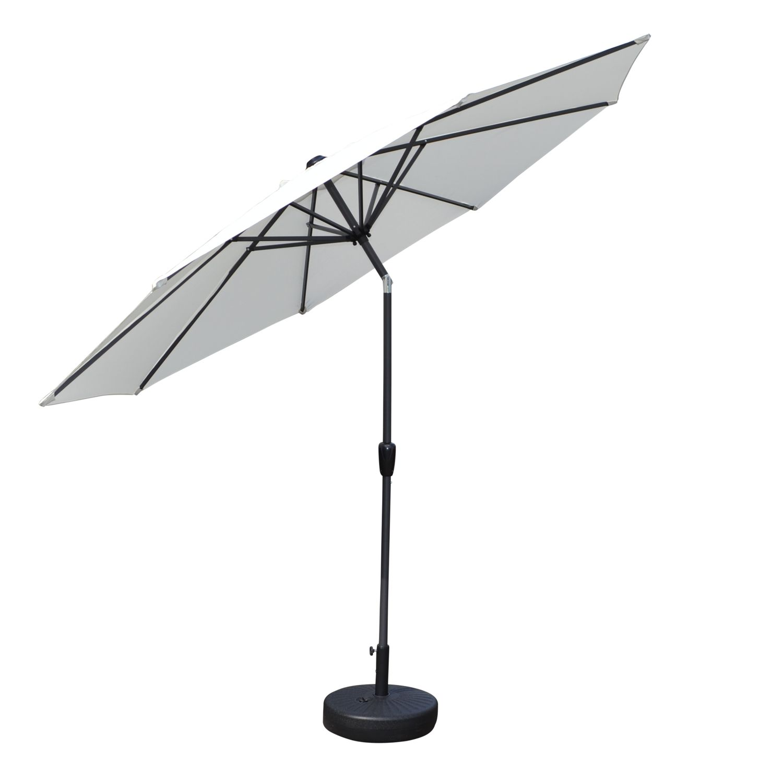 Sonnenschirm weiss 300 cm