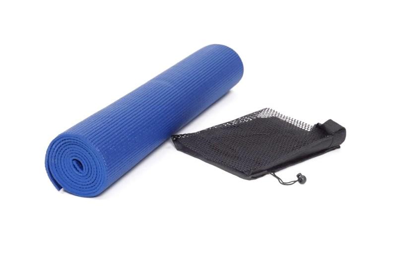 Yogamatte blau 173 x 61 x 0.6 cm
