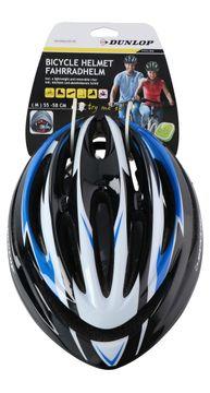 Casque de vélo Dunlop taille M bleu