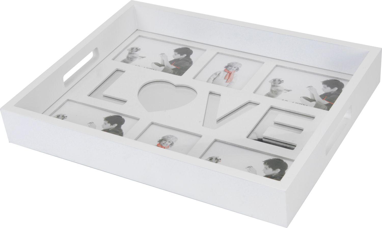 tablett mit fotos weiss online shop gonser. Black Bedroom Furniture Sets. Home Design Ideas