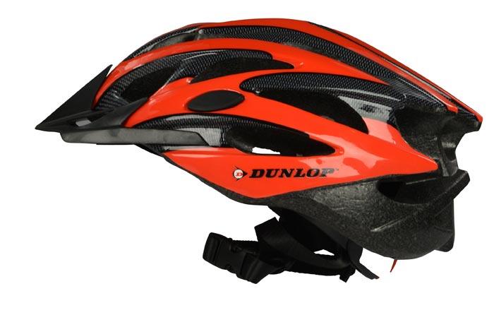 MTB Helm von Dunlop Grösse M rot