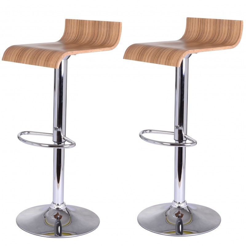 2 tabouret de bar bois magasin en ligne gonser. Black Bedroom Furniture Sets. Home Design Ideas