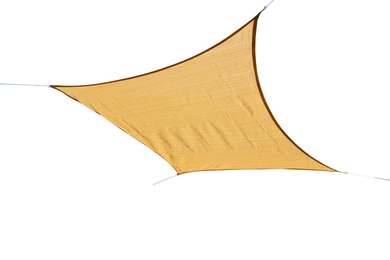 Sonnensegel 7.3 x 7.3 m beige