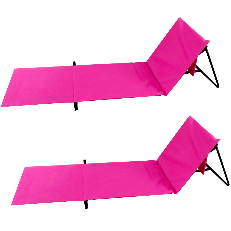 Strandmatte pink Doppelpack