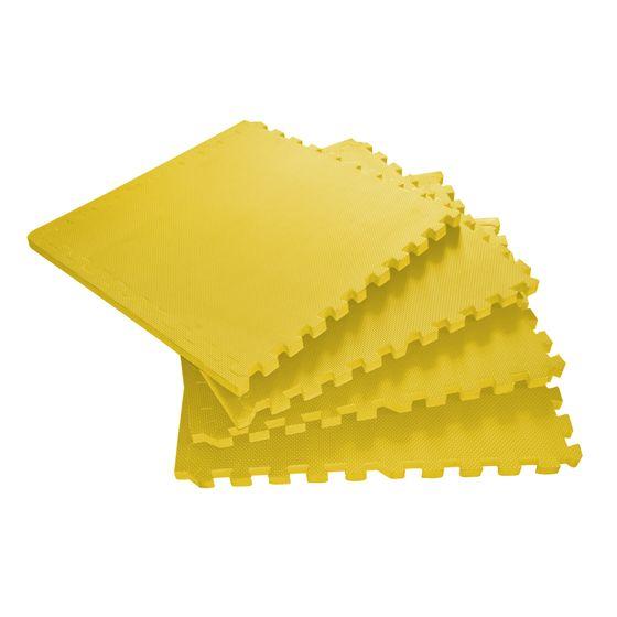 Tapis de sol jaune 4 pcs