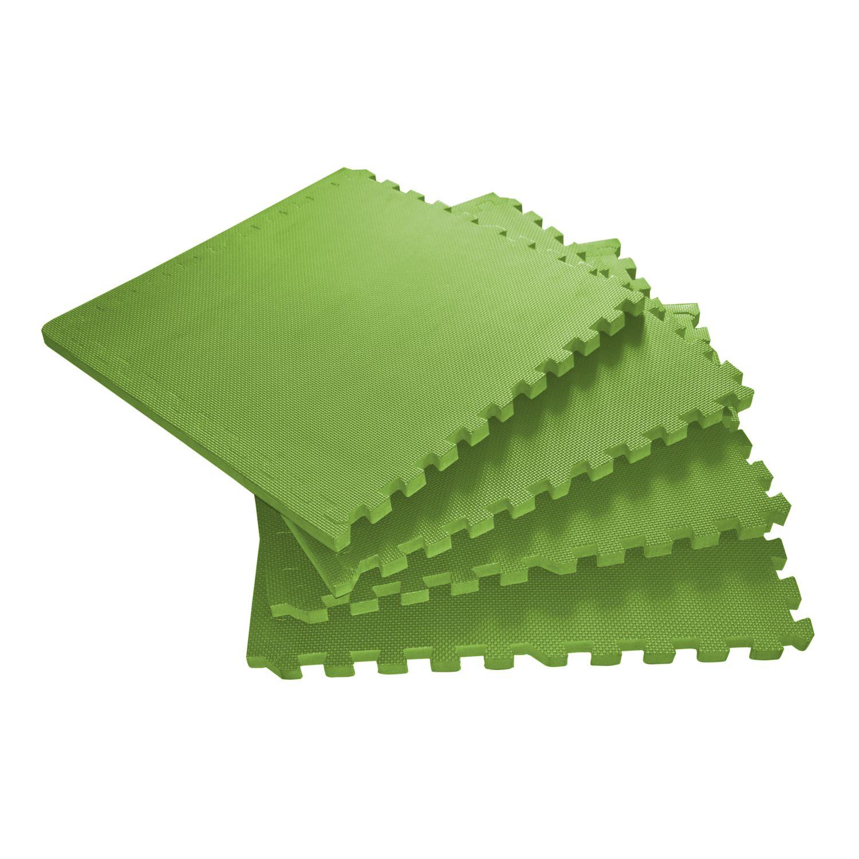 Bodenmatte 4er Set grün