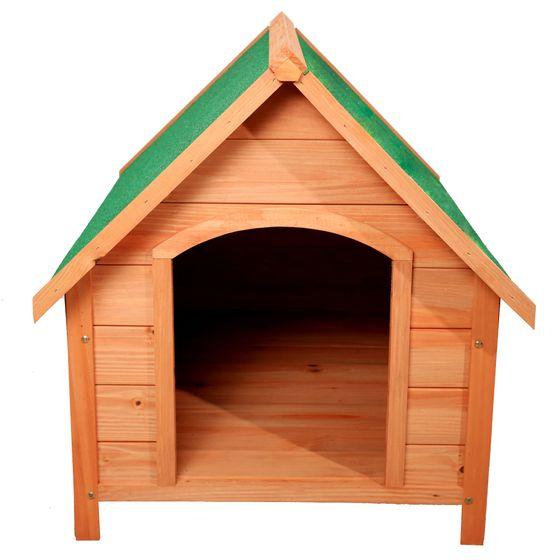 Hundehütte aus Holz
