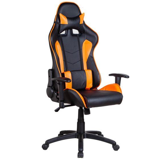 Gaming Stuhl Bürostuhl schwarz/orange