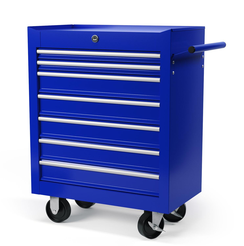Werkstattwagen Rollwagen blau