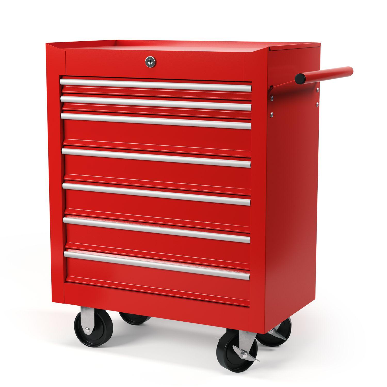 Werkstattwagen Rollwagen rot