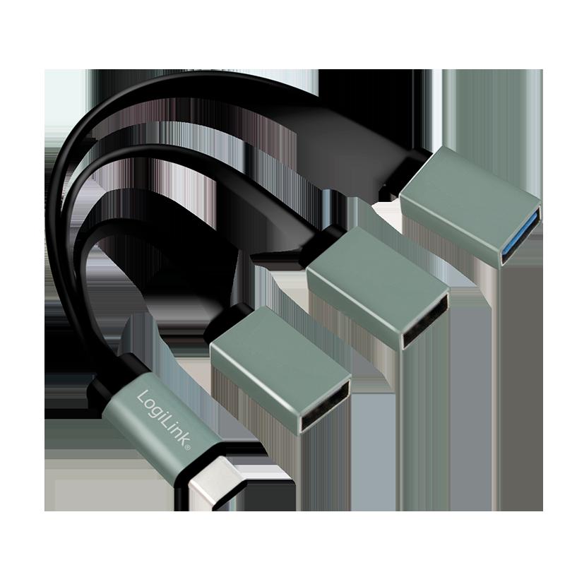 USB-C Hub mit 3 Ports