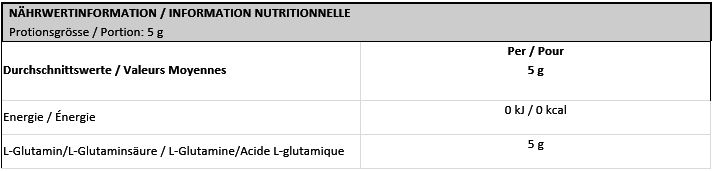 Optimum Nutrition Glutamine En Poudre 630g Magasin En