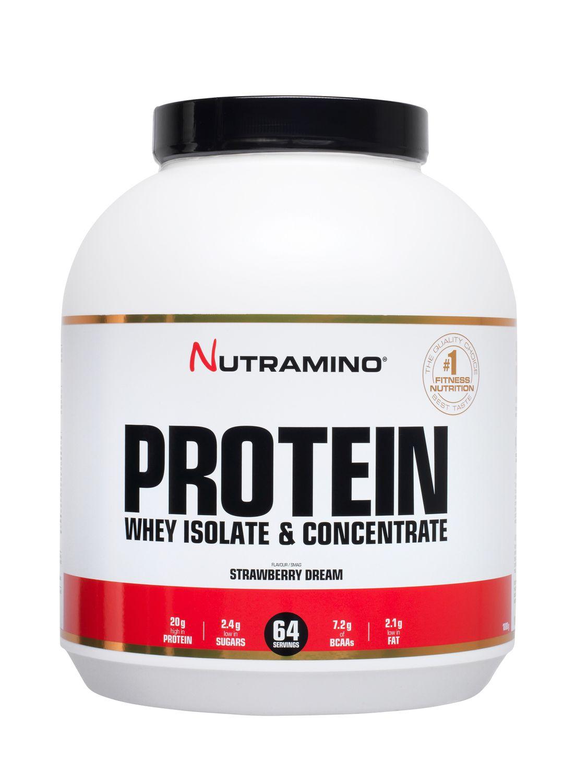 Nutramino Whey Protein 1800 g Strawberry