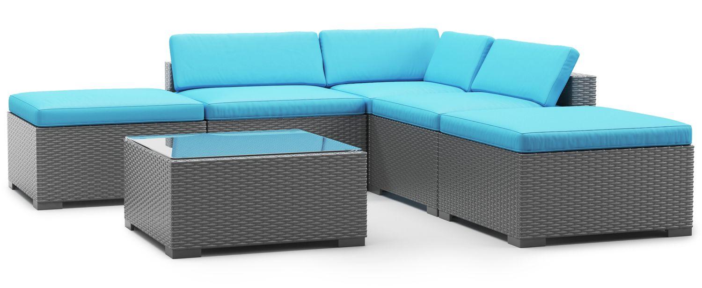 Ersatzkissen Lounge TEXAS türkis