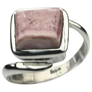 Besonderer 925er Silberring mit Rhodochrosit – Bild 1