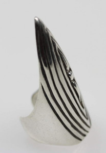 Massive Gothic Fingerspitze aus 925er Silber – Bild 1