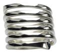 Feiner Spiralring aus 925er Sterlingsilber 001
