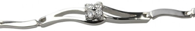 Feines 925er Silberarmband aus Italien – Bild 1