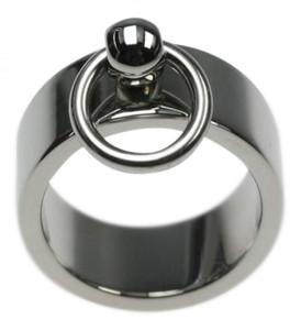 Ring der O in Edelstahl, Breite 8 mm – Bild 1