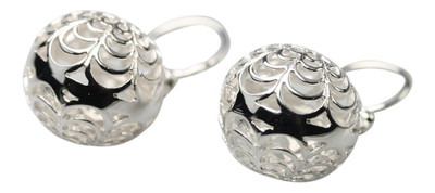 Filigrane 925er Silberohrringe – Bild 1