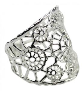 Bildschöner filigraner 925er Silberring – Bild 2