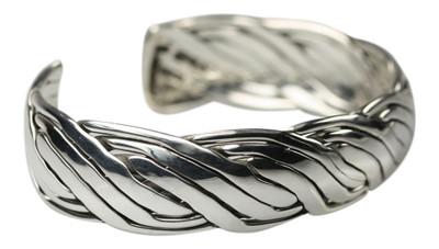 Armspange aus 925er Silber, edel und massiv – Bild 3