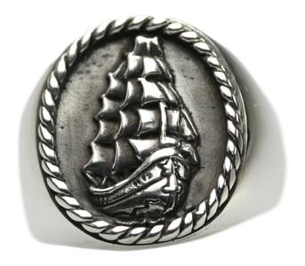 Siegelring Motiv 3 Master aus 925 Silber – Bild 1