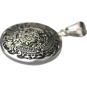 Feiner 925er Silberanhänger Aztekenkalender  – Bild 2