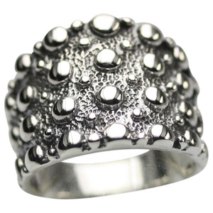 Bildschöner oxidierter 925er Silberring – Bild 2