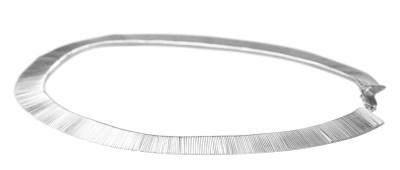 Zauberhaftes massives 925er Silber Collier, 43 cm – Bild 2