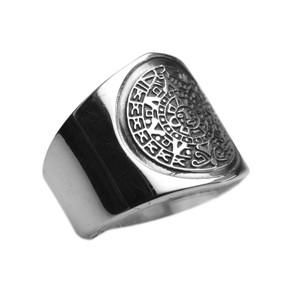925er Silbering mit Aztekenkalender – Bild 2