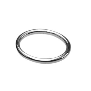 Schmaler runder 925er Silberring 2 mm – Bild 1