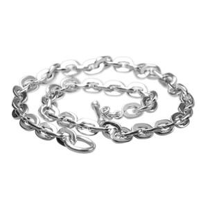 Massive polierte 925er Silberkette 60 cm – Bild 1
