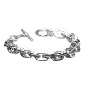 Massives Armband aus 925er Silber, 19,5 cm – Bild 2