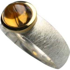 Silberring mit gelbem Turmalin – Bild 1