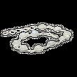 Feines 925er Silberarmband mit rundem Mondstein 001