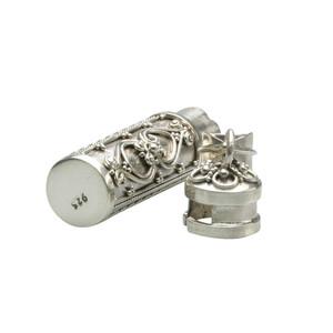Verzierte Silberdose zum öffnen – Bild 2