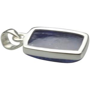 Anhänger aus 925er Silber mit edlem Tansanit – Bild 2