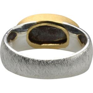 925er Silberring mit edelm Boulderopal Größe 54 – Bild 3