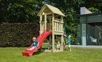 Klingl Spielturm Kiosk aus Lärchenholz inkl. Rutsche