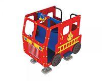 Feuerwehrauto auf Federn 1701 - öffentlich DIN 1176 - Fahrzeug für Kindergarten oder Spielplatz