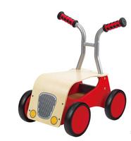 Hape Roter Raser, Holzfahrzeug, E0374 Lauflernhilfe
