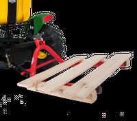 Berg Anbaupaket III hinten - Palettengabel 15.60.55 + Hebevorrichtung hinten 15.60.30 - Aktion