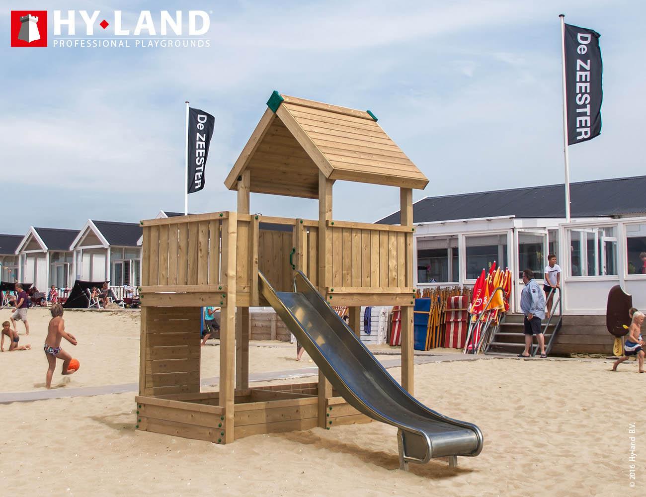 hyland projekt 3 spielturm aus douglasienholz mit 2. Black Bedroom Furniture Sets. Home Design Ideas