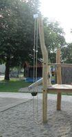Sandaufzug-Komplettset für Spielturm - Kettenlänge zur Auswahl - öffentlich DIN EN 1176