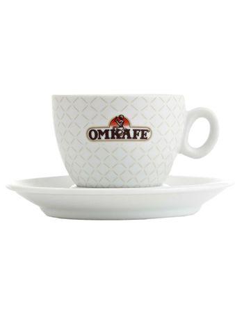 Omkafe - Cappuccino - Tasse 2 Stk