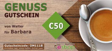 Genussgutschein EUR 50