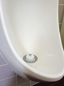 25 Stk Ecobug extrastarke Urinalstein-Caps zur Wassereinsparung sowie effektiven und ökologischen Geruchsbekämpfung auf mikrobieller Basis in wasserlosen und wassergespülten Urinalen mit Kirsch Duft 004
